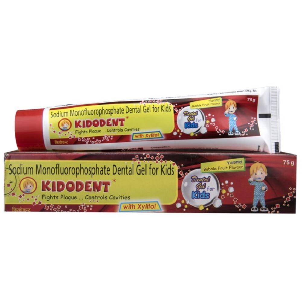 Indoco Remedies Kidodent Dental Gel (75g)