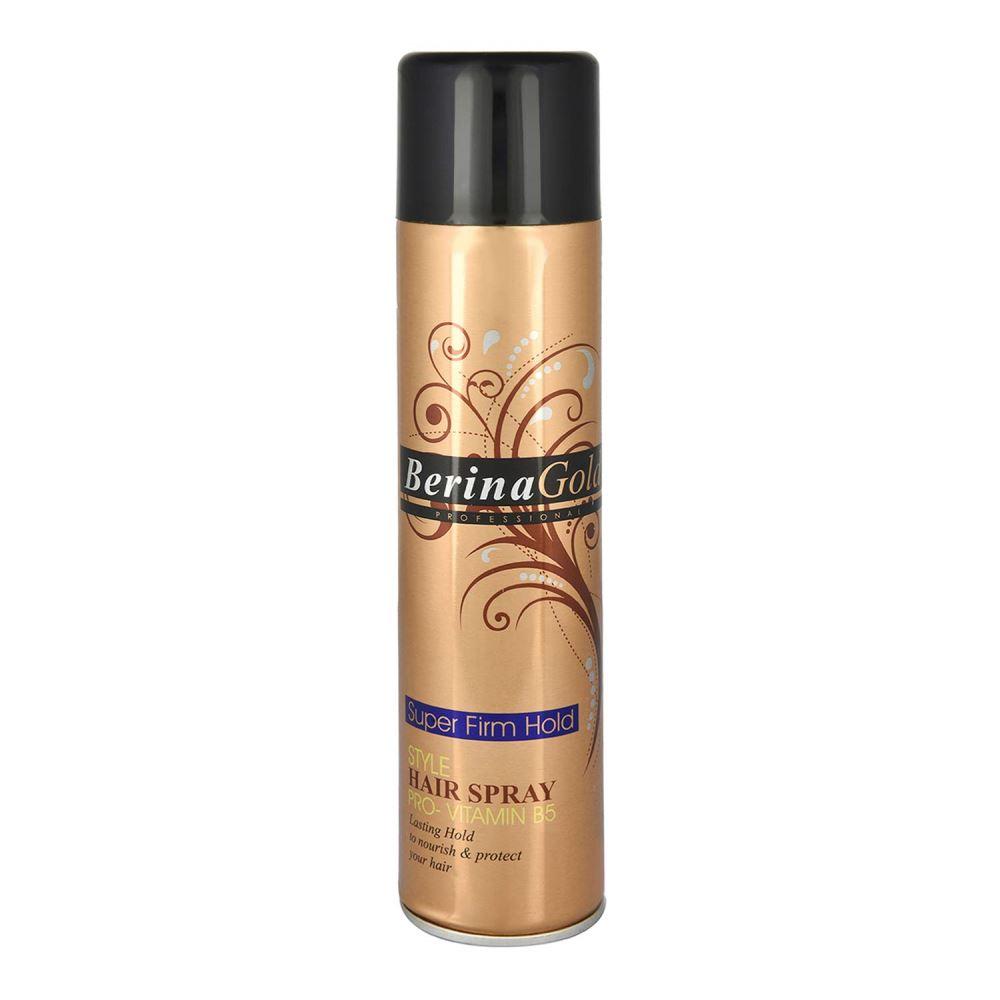 Berina Gold Super Firm Hold Hair Spray (250ml)
