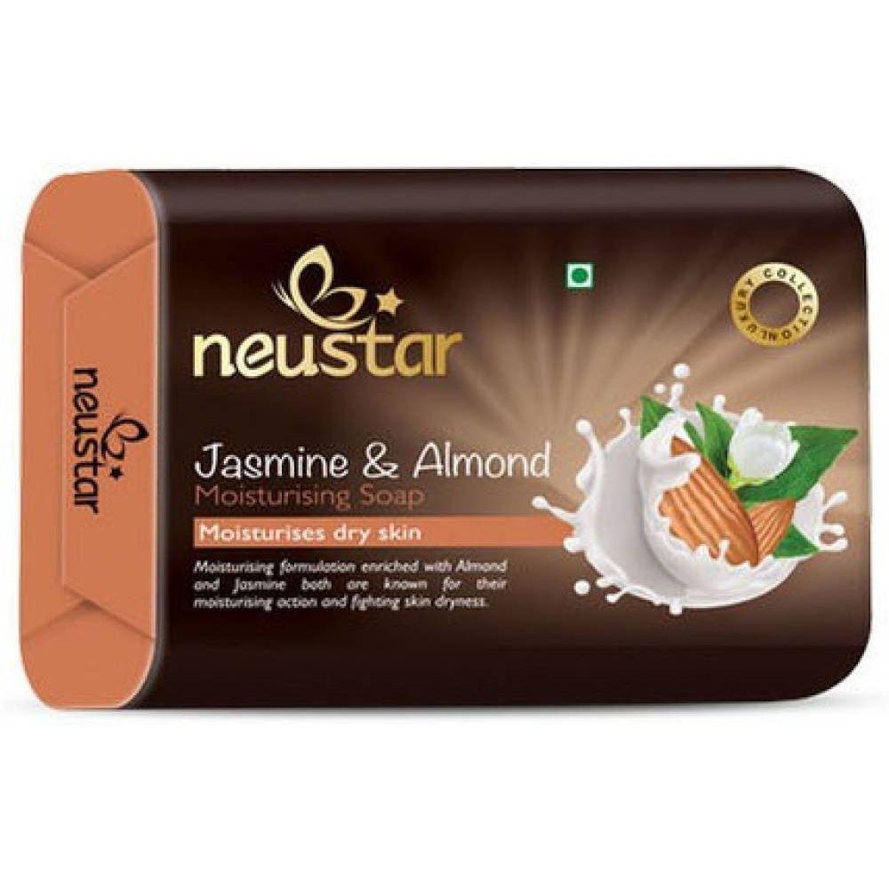 Neustar Jasmine And Almond Soap (100g, Pack of 5)