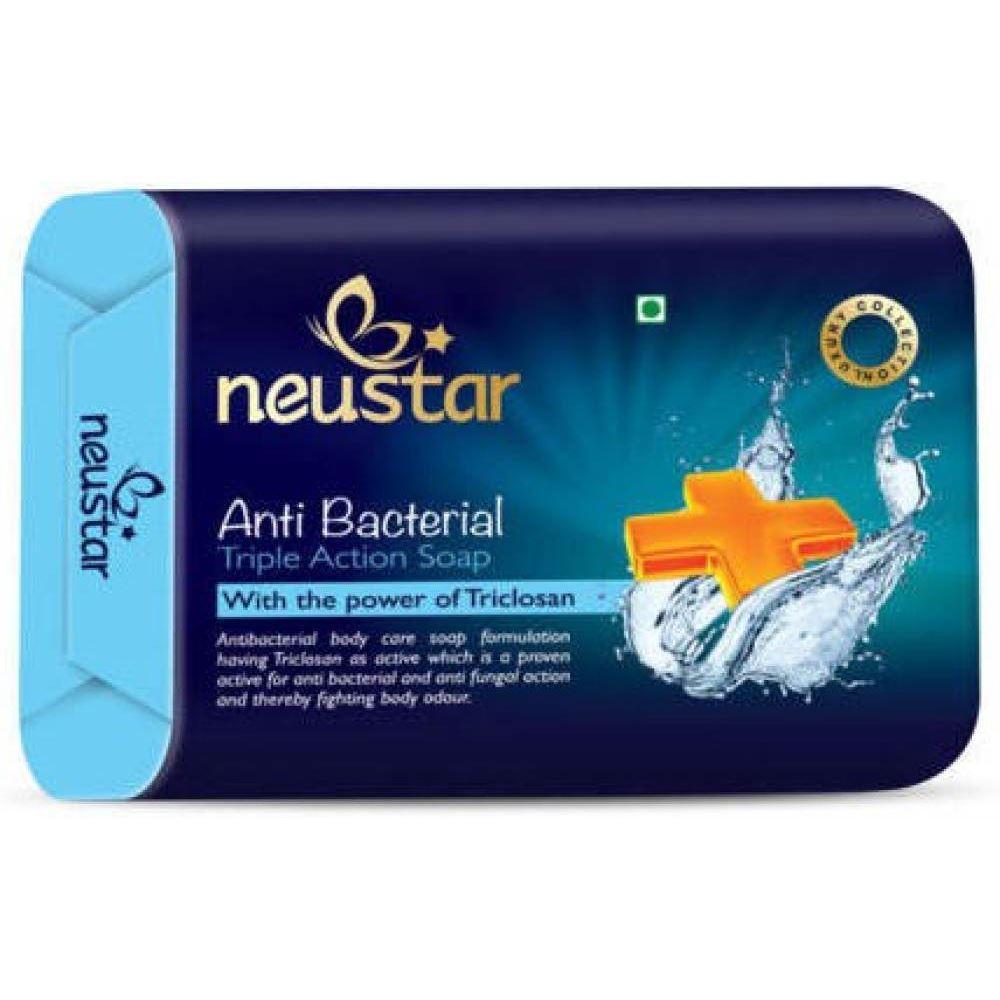 Neustar Antibacterial Soap (100g, Pack of 5)