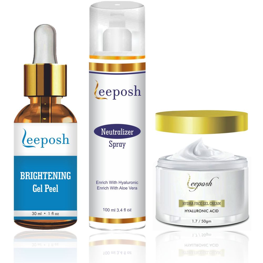 Leeposh Brightening Peel Kit (180g)