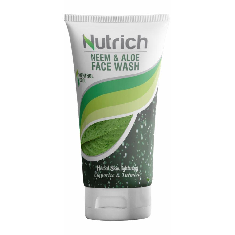 Ayulabs Nutrich Neem & Aloe Face Wash (50g)