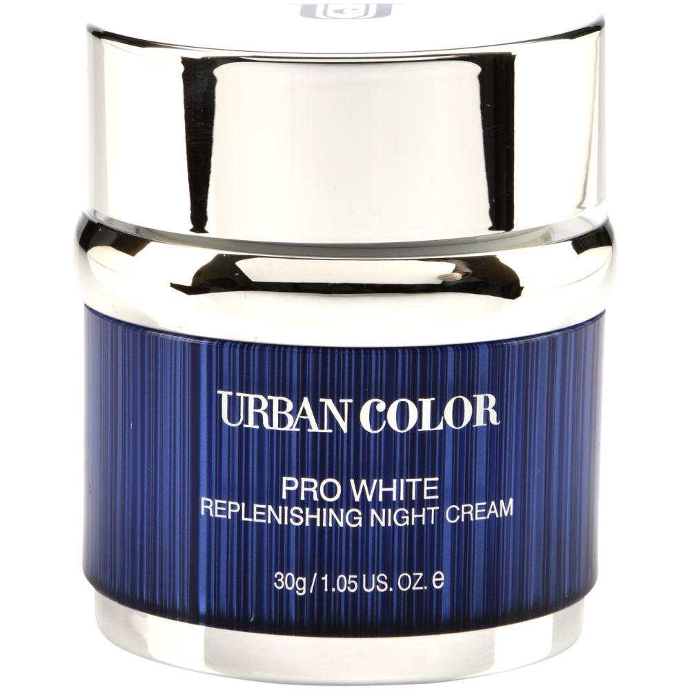 Urban Color Pro White Replenishing Night Cream (30g)