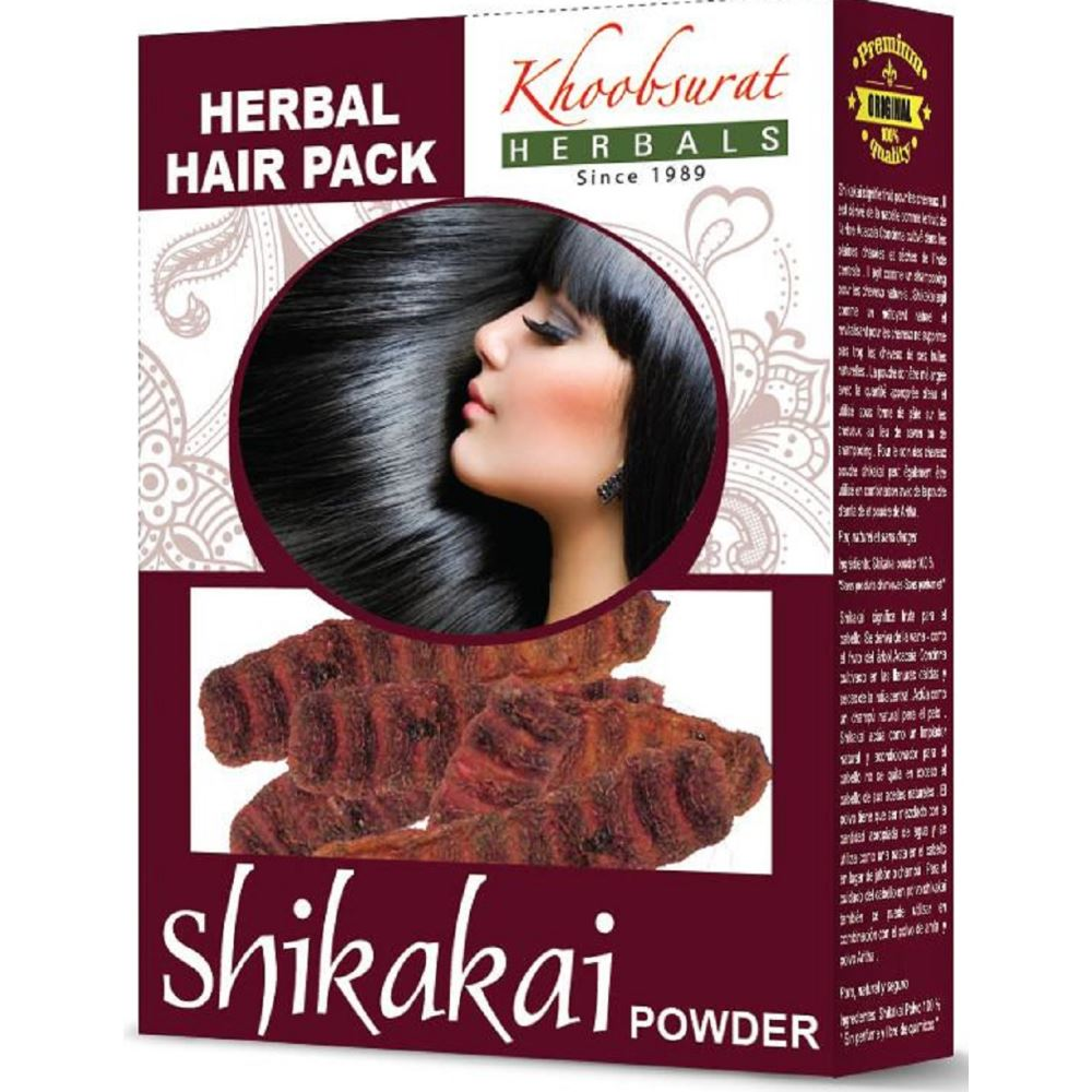 Falcon Herbs Shikakai Powder (100g, Pack of 5)