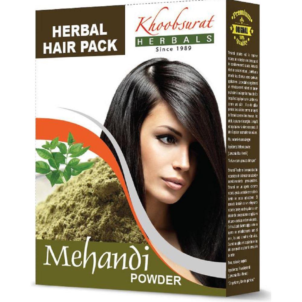 Falcon Herbs Mehandi Powder (100g, Pack of 5)