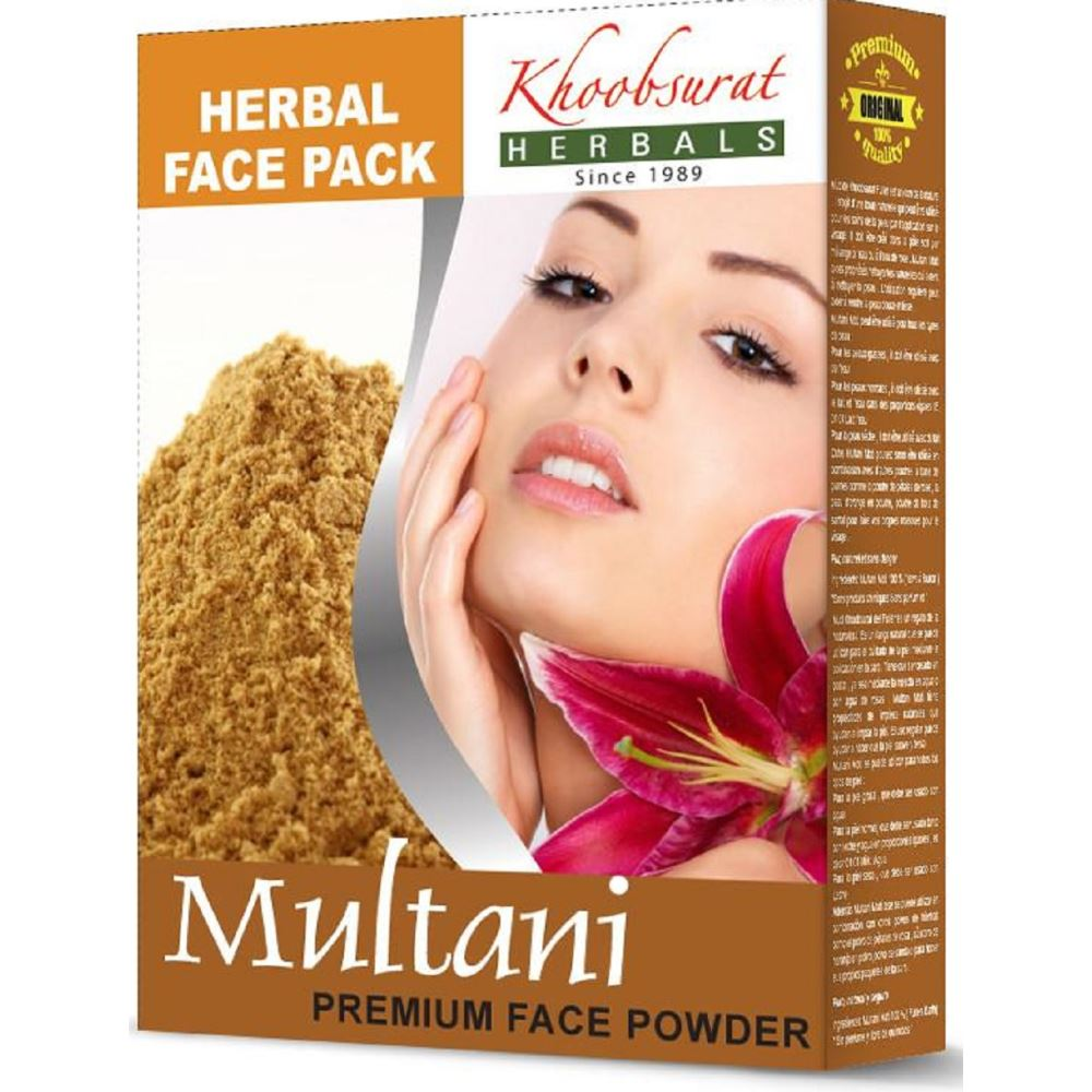 Falcon Herbs Multani Mitti Powder (100g, Pack of 5)