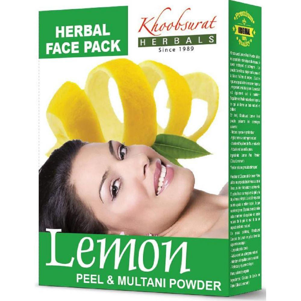 Falcon Herbs Multani Mitti With Lemon (100g, Pack of 5)
