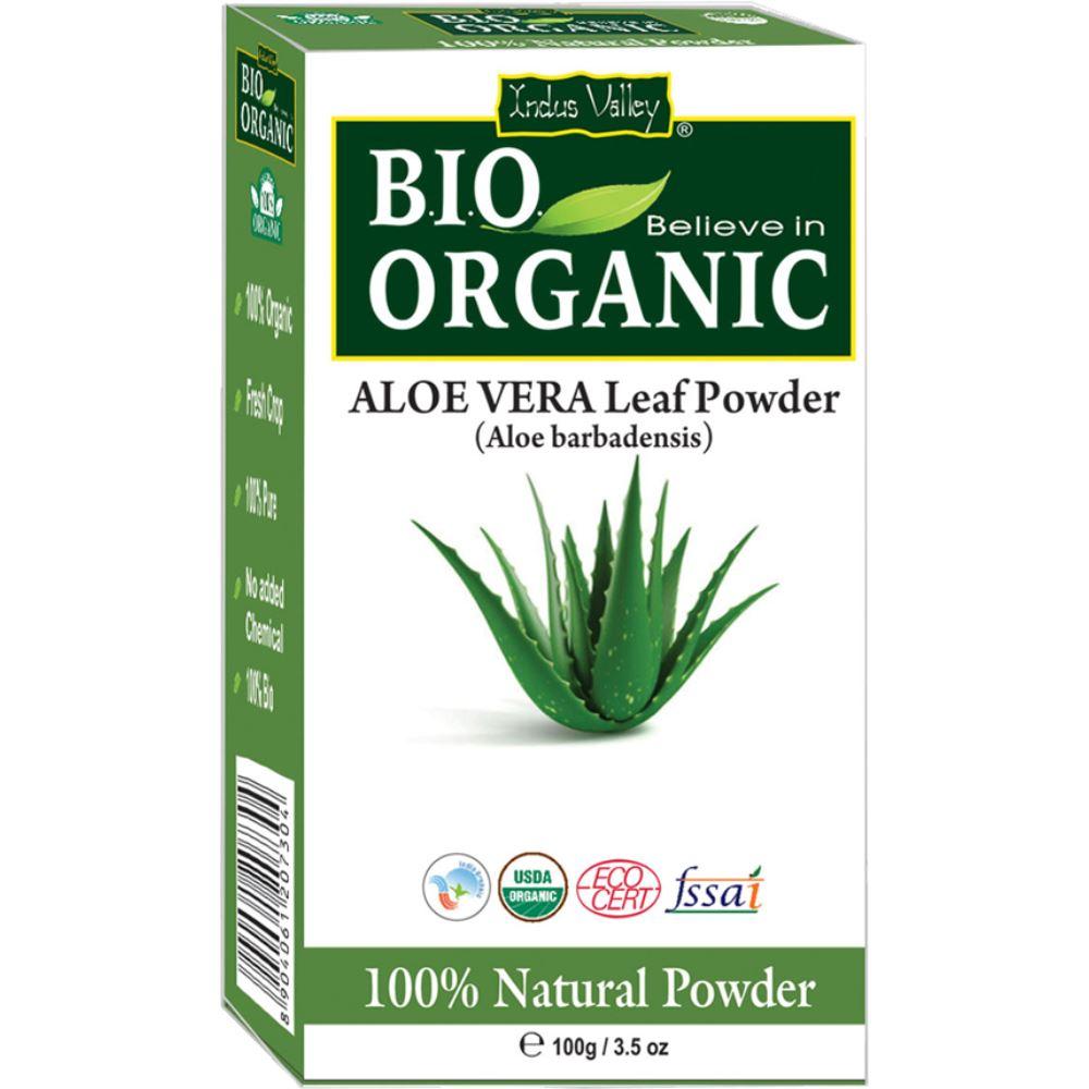 Indus valley Bio Organic Aloe Vera Powder (100g)