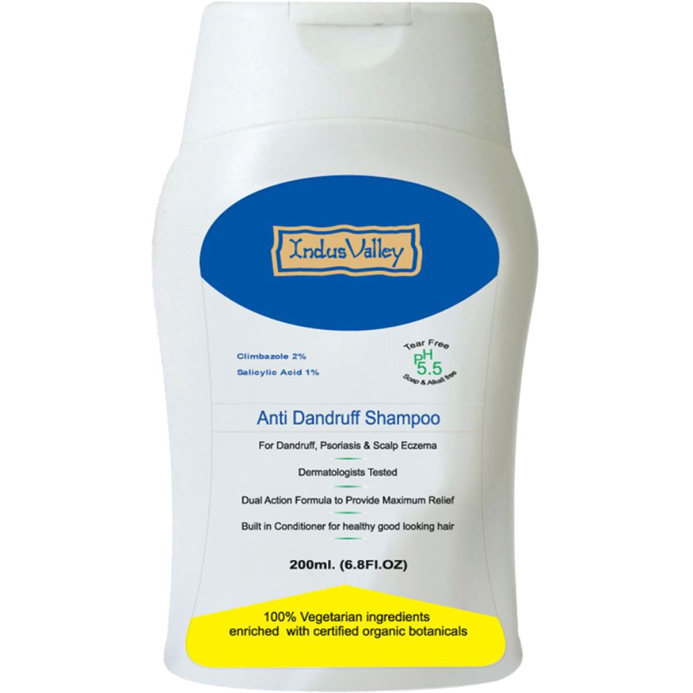 Indus valley Anti Dandruff Shampoo (200ml)