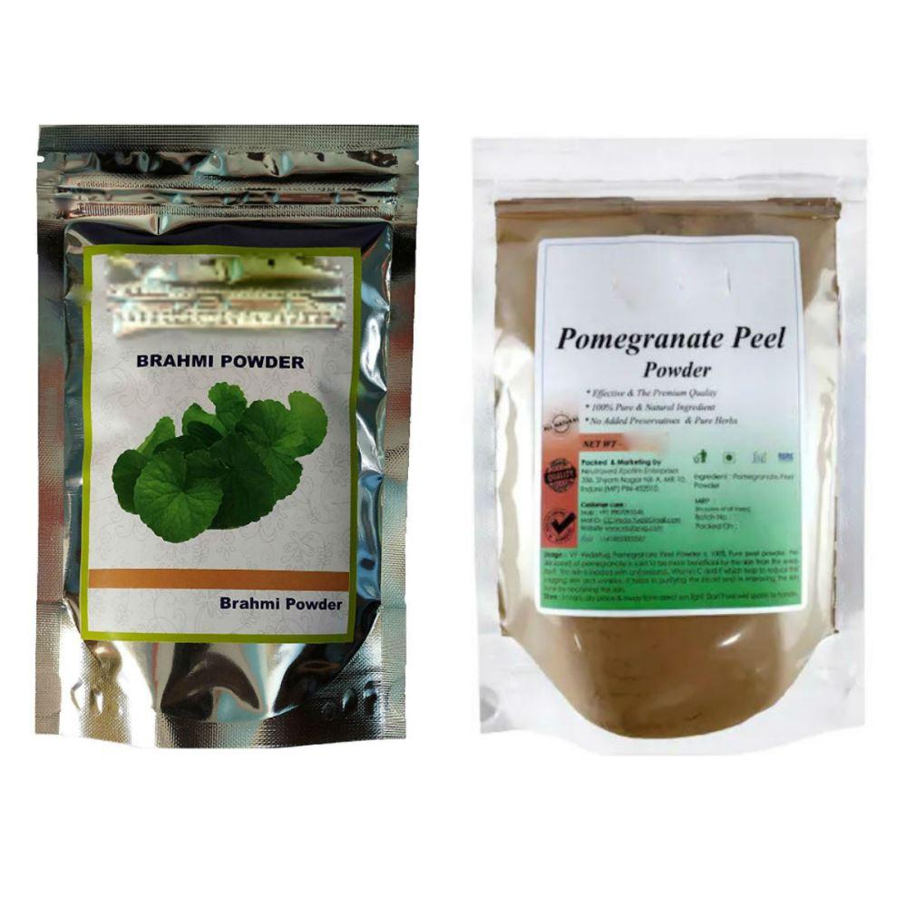 Indirang Brahmi Powder(100G) & Pomegranate Powder(100G) Combo Pack (1Pack)