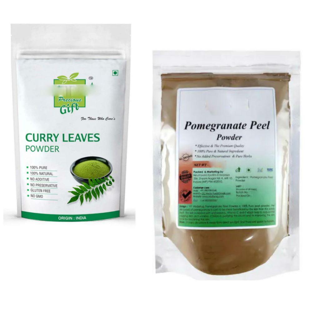 Indirang Curry Leaf Powder(100G) Powder & Pomegranate Powder(100G) Combo Pack (1Pack)