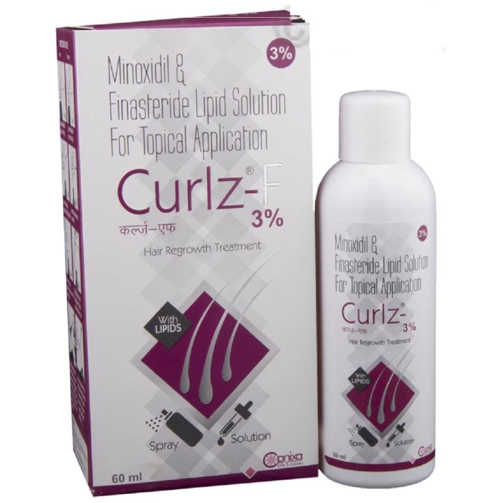 Canixa Lifesciences Curlz F Solution (3%w/v/0.1%w/v) (60ml)