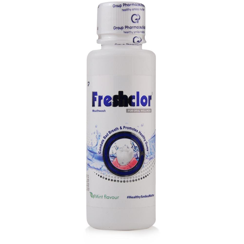 Group Pharma Freshclor Mouth Wash Mint (100ml)