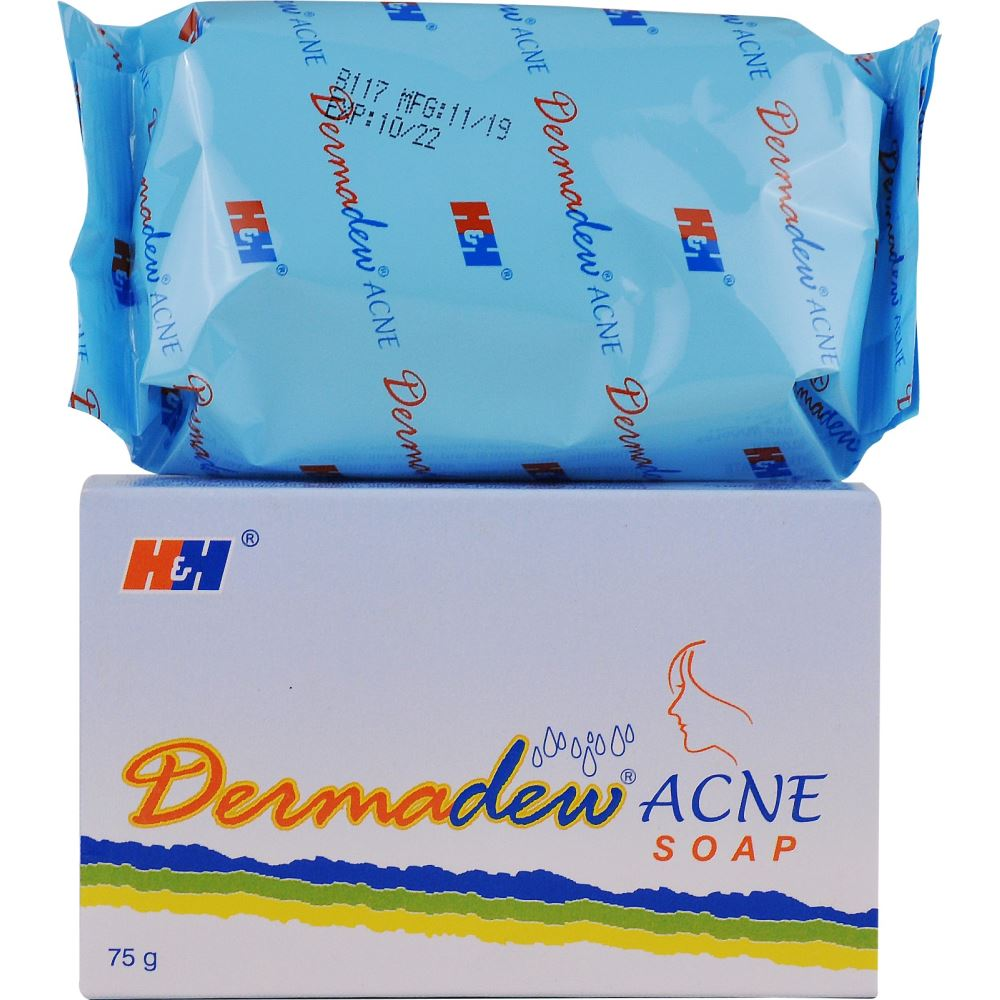 Hegde and Hegde Dermadew Acne Soap (75g)