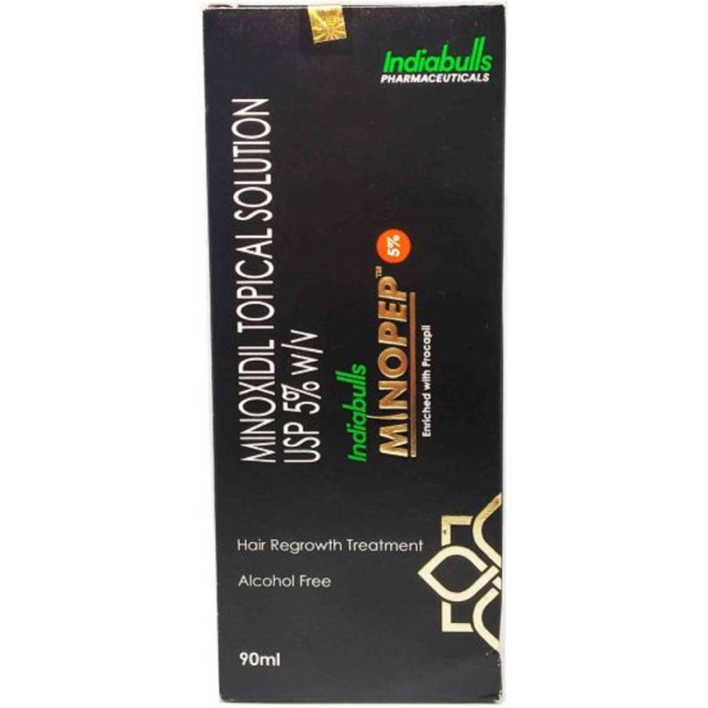 Indiabulls Pharma Minopep Solution (5%w/v) (90ml)