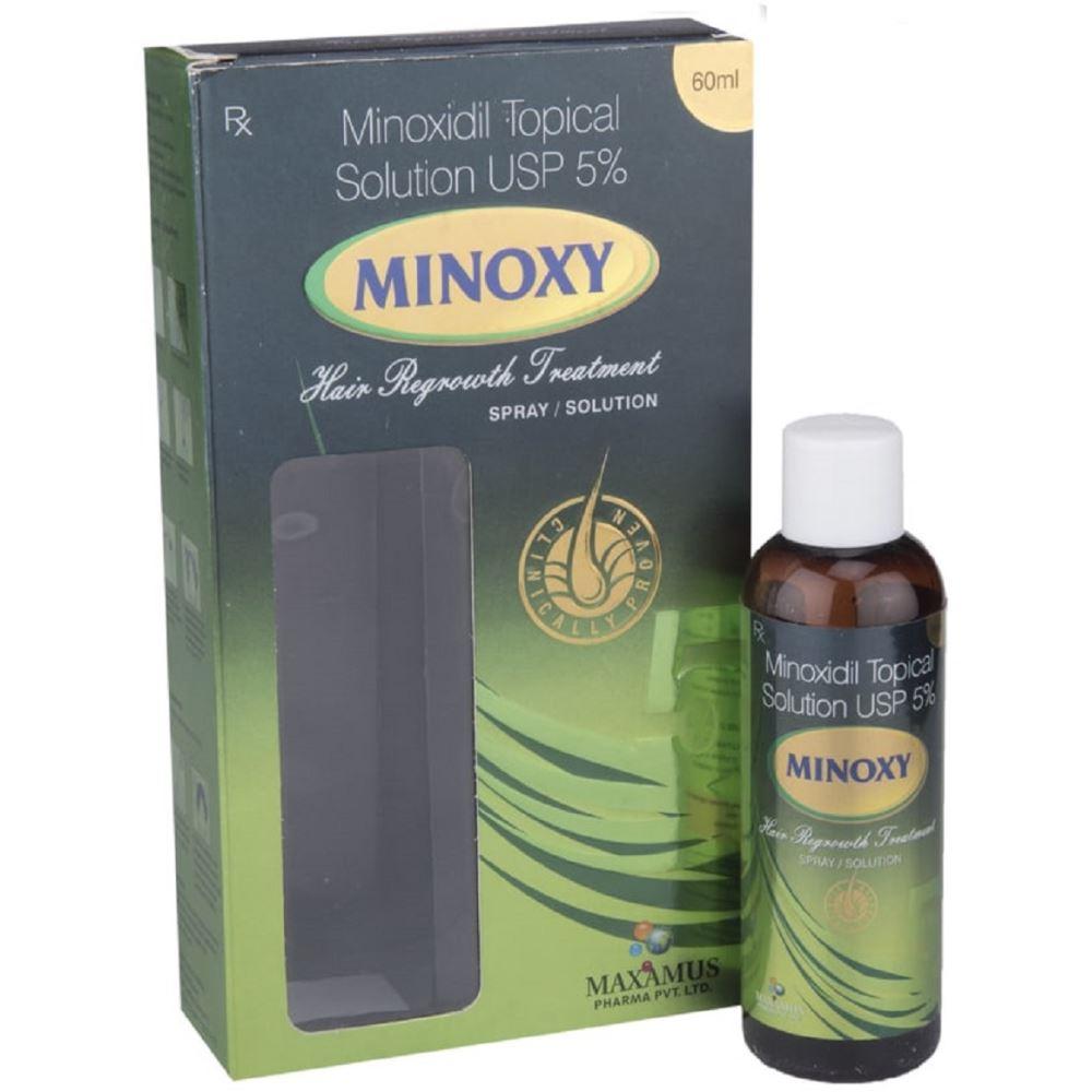 Maxamus International Minoxy Solution (5%w/v) (60ml)