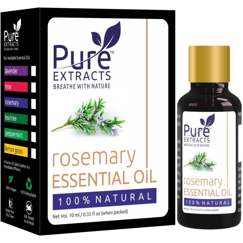Pure Extracts 100% Pure Rosemary Essential Oil (10ml)