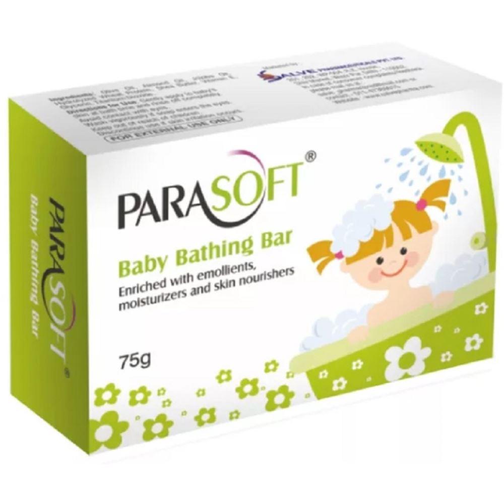 Salve Pharma Parasoft Baby Bathing Bar (75g)