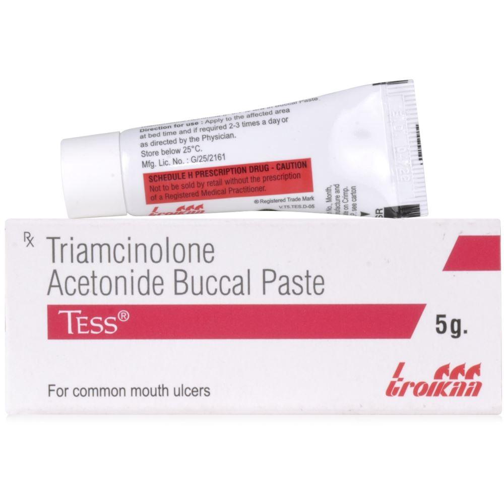 Troikaa Pharma Tess Oral Paste (0.1%w/w) (5g)