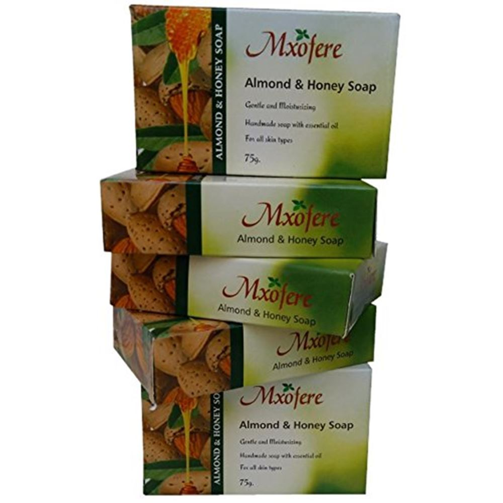 Mxofere Almond & Honey Hand Made Soap (75g)