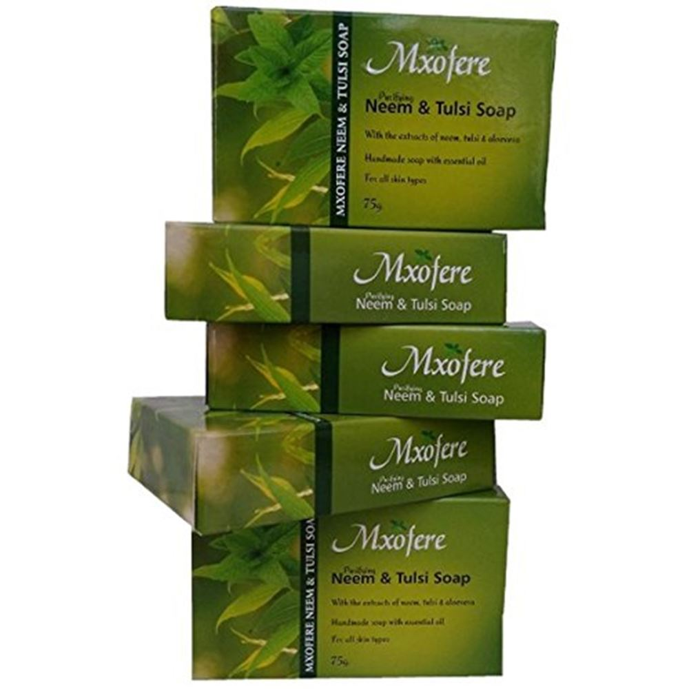 Mxofere Neem And Tulsi Hand Made Soap (75g)