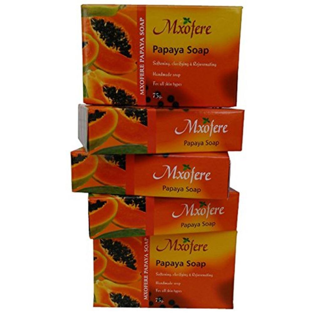 Mxofere Papaya Hand Made Soap (75g)