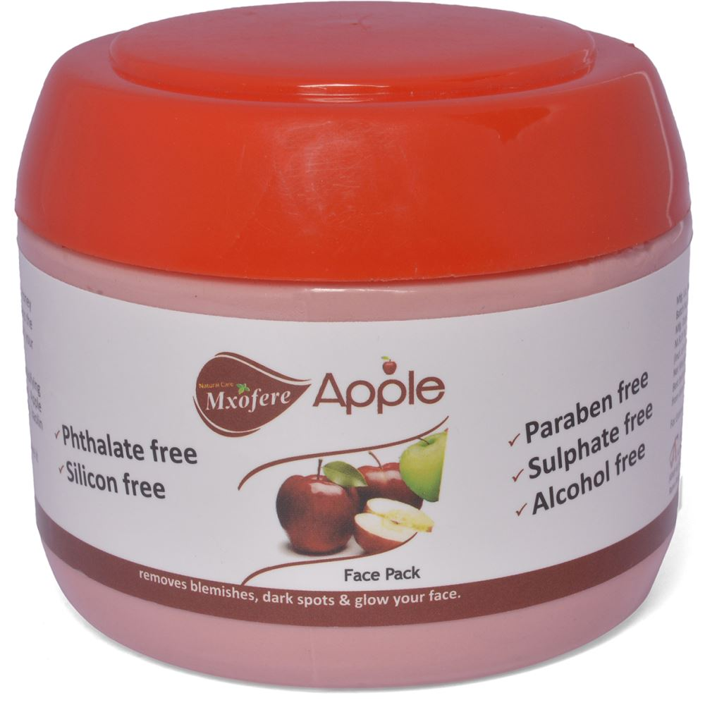 Mxofere Apple Vinegar Face Pack {Paraben Free, Alcohol Free, Sulphate Free, Silicon Free, Phtalate Free} (100g)