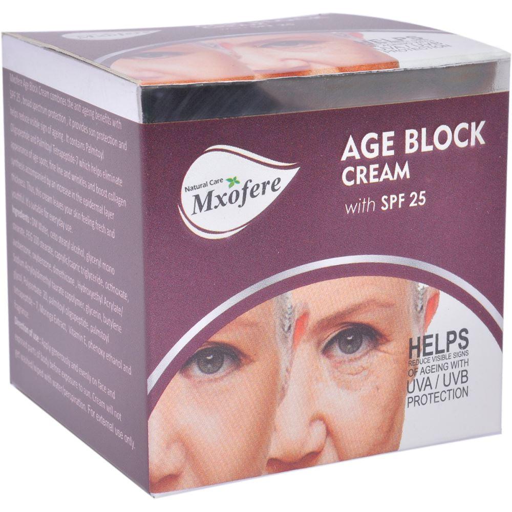 Mxofere Age Block With 25 SPF Day Cream (30g)
