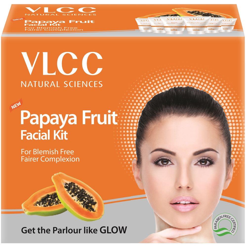 VLCC Papaya Fruit Single Facial Kit (60g)