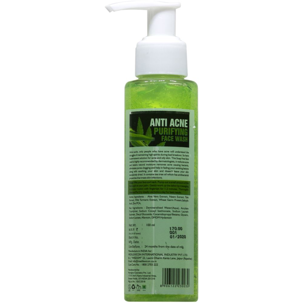 Medilexicon Anti Acne Purifying Facewash (30ml)
