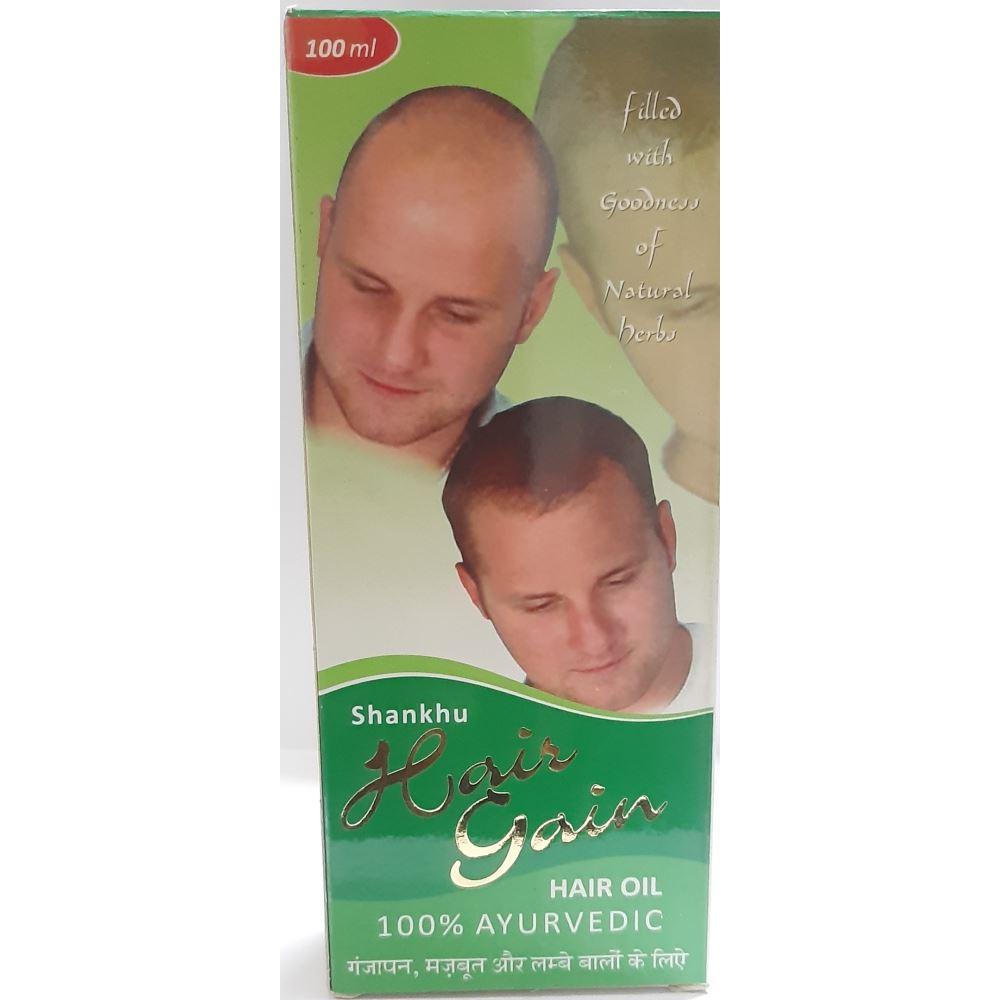 Shankhu Hair Gain Hair Oil (100ml)