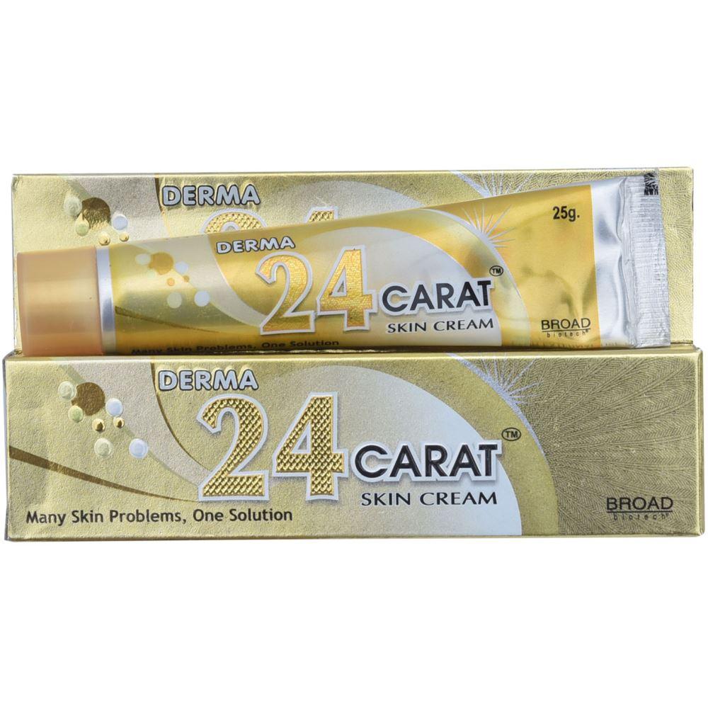Broad Biotech 24 Carat Skin Cream (25g, Pack of 3)