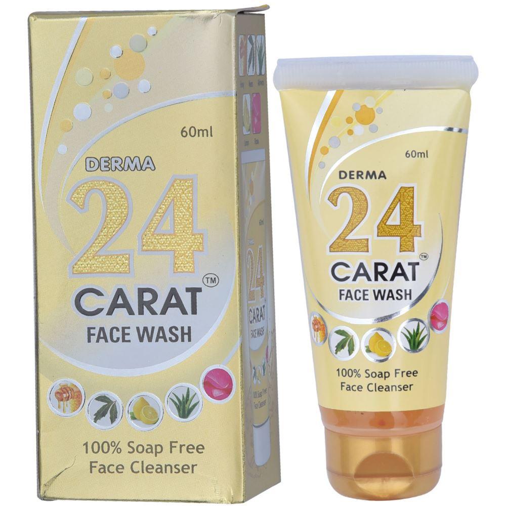 Broad Biotech 24 Carat Face Wash (60ml, Pack of 3)