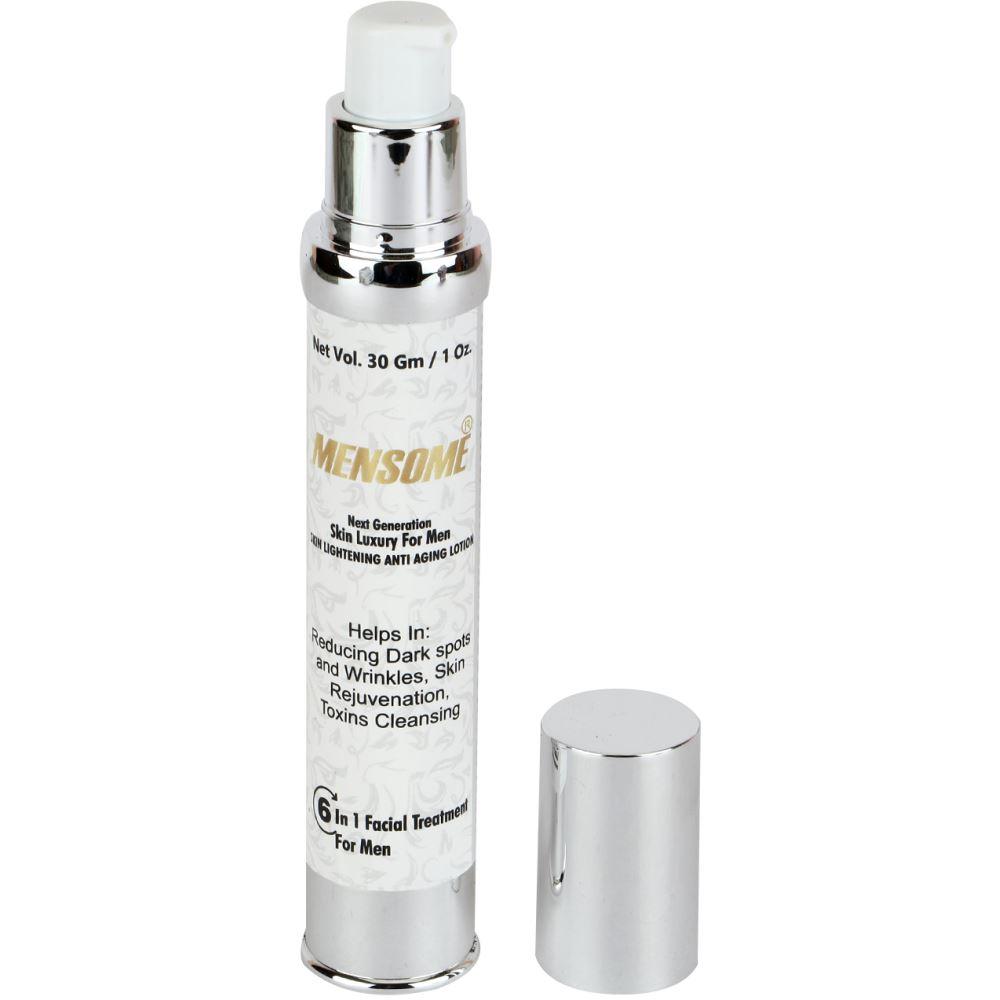 Mensome 6 In 1 Facial Treatment For Men For Dark Spots, Skin Whitening, Toxins Cleansing, Acne, Wrinkles, Moisture To Skin (30g)