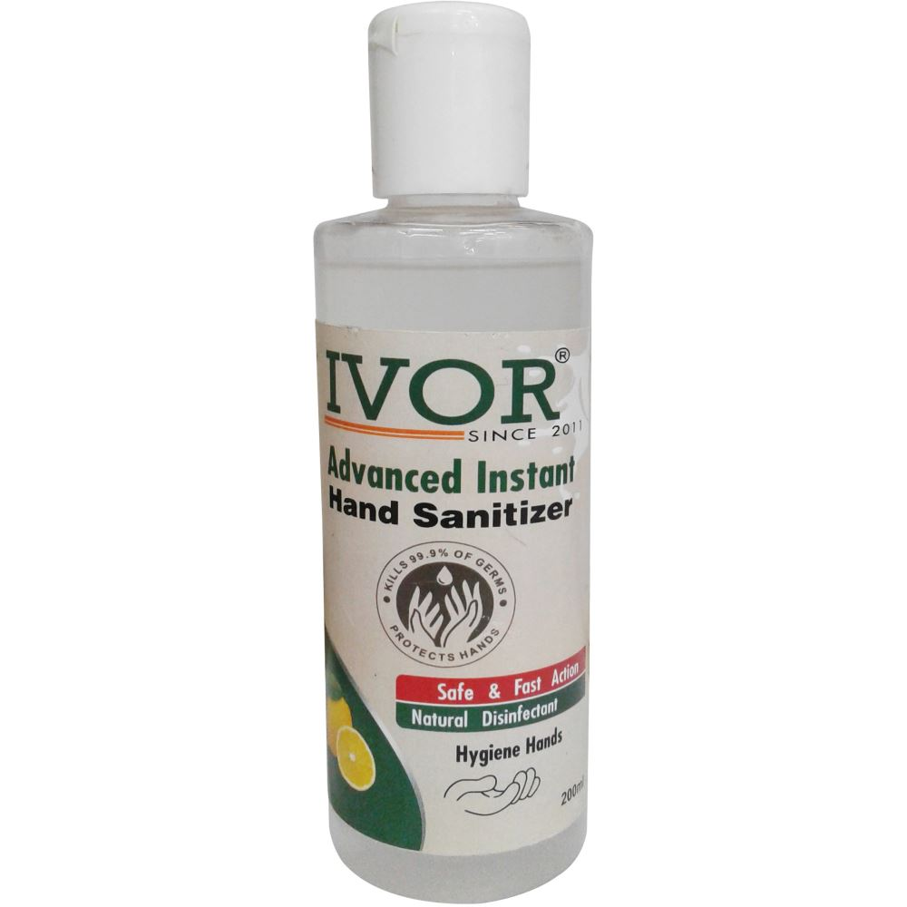 Ivor Advanced Instant Hand Sanitizer (Alcohol Based) (200ml)