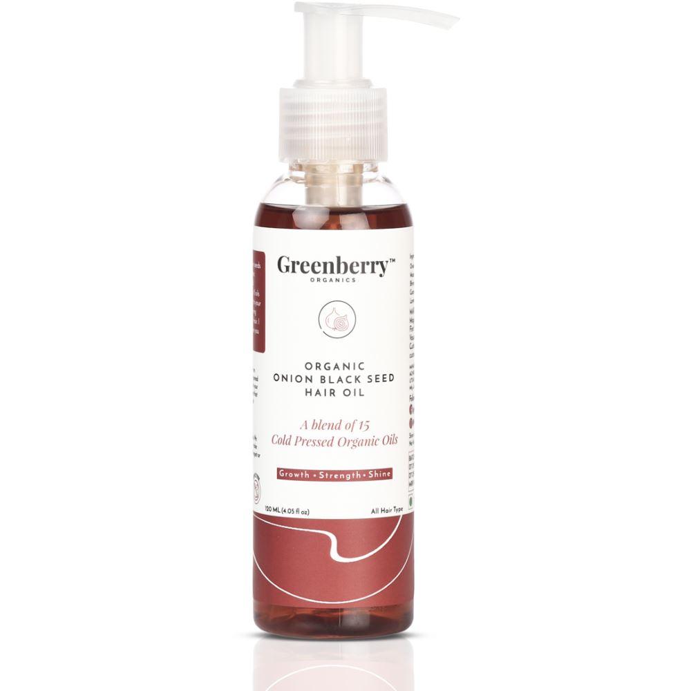 Greenberry Organics Onion Black Seed Hair Oil (120ml)