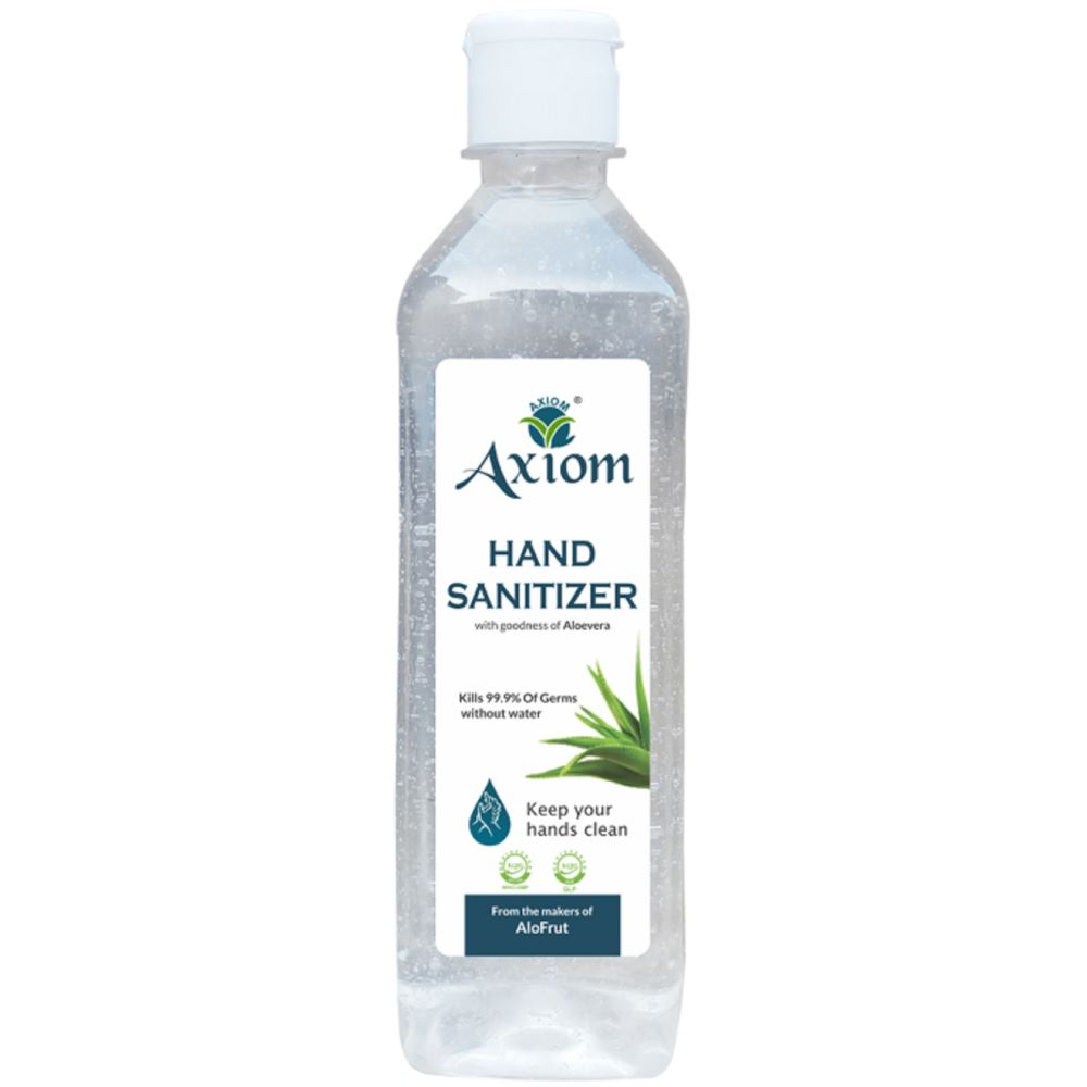 Axiom Hand Sanitizer Enriched With Aloevera, Neem And Haldi (160ml)
