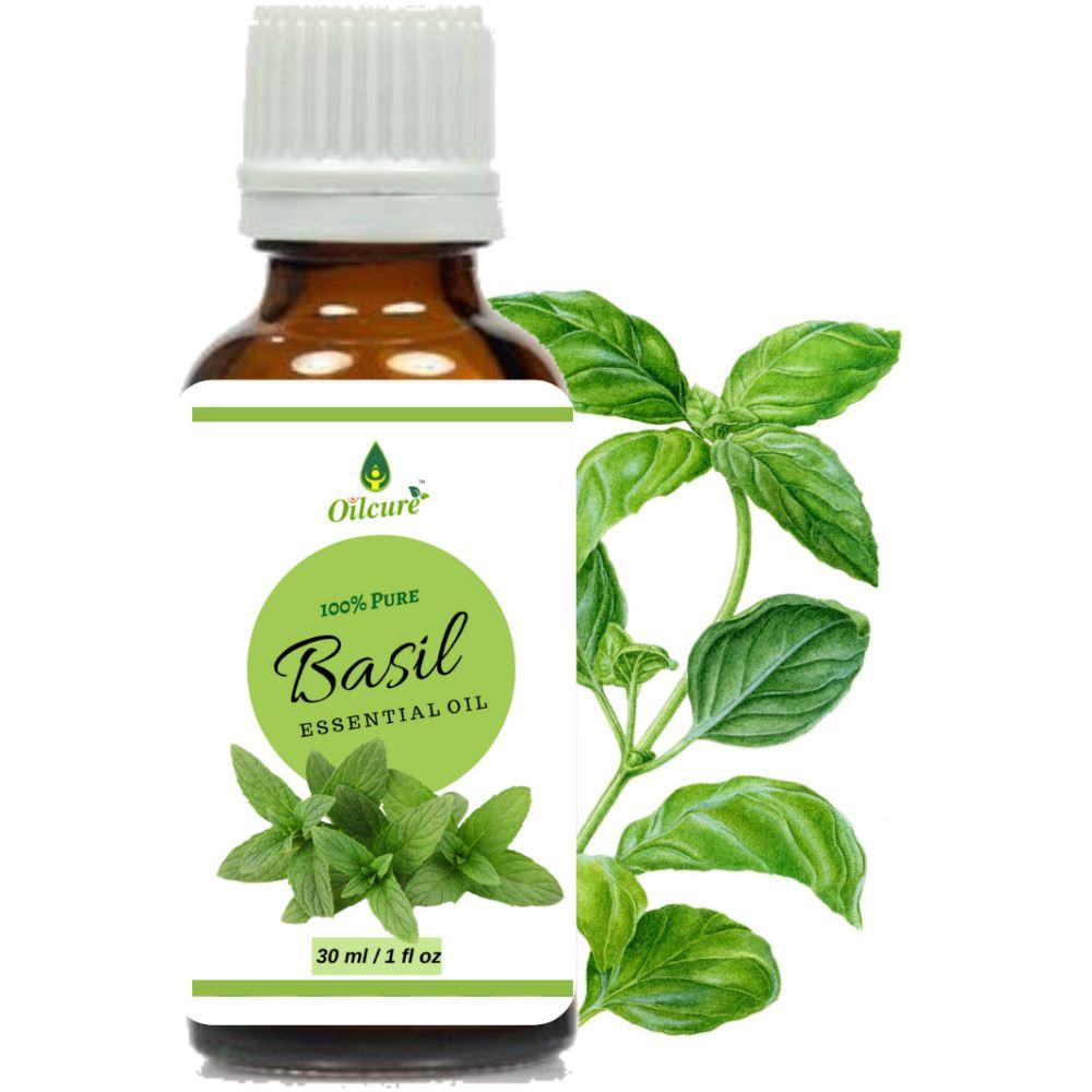 Oilcure Basil Oil (30ml)