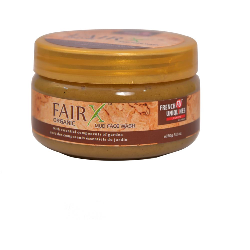 French Uniqlines Fairx Organic Mud Face Wash (150g)