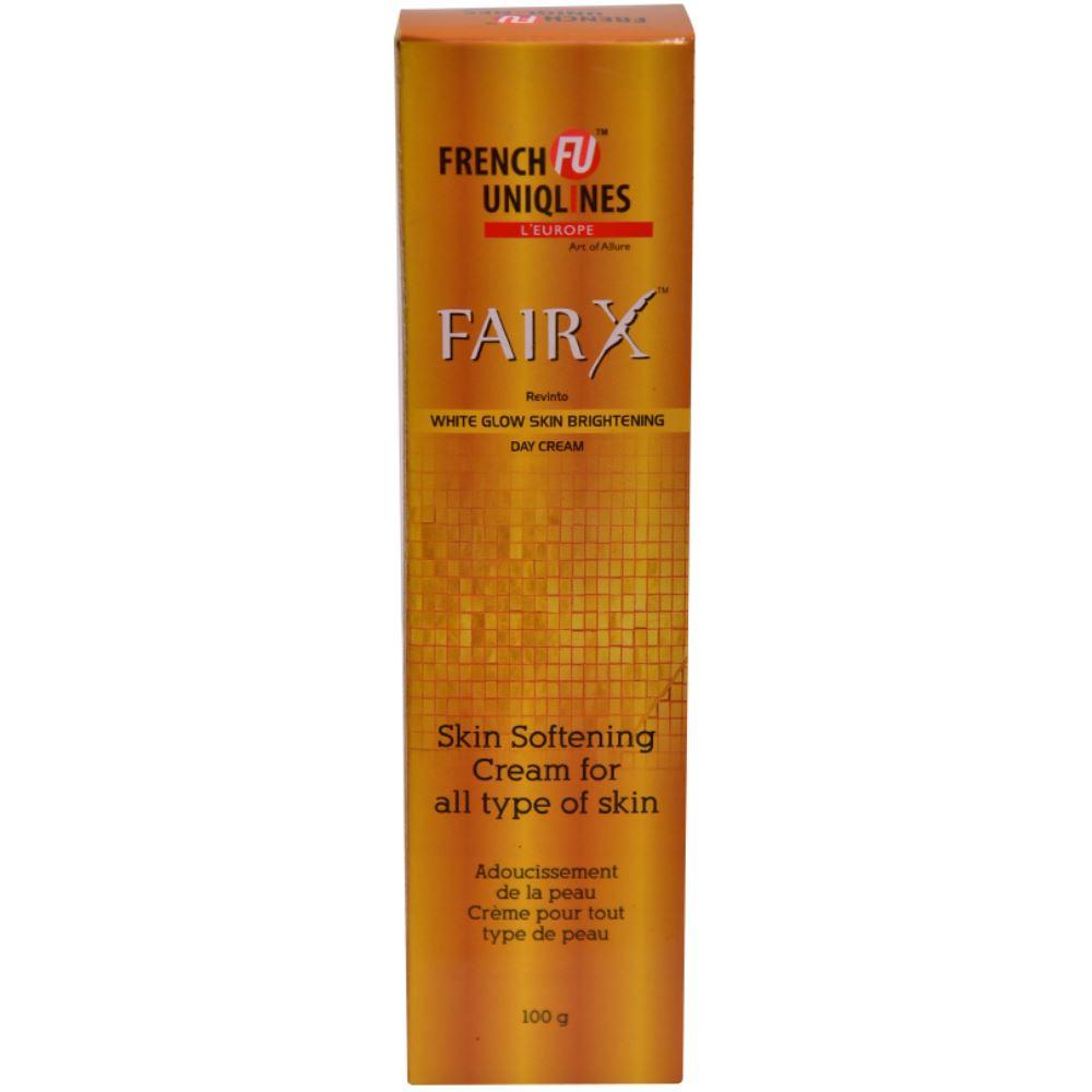 French Uniqlines Fairx White Glow Skin Brightening Day Cream (100g)