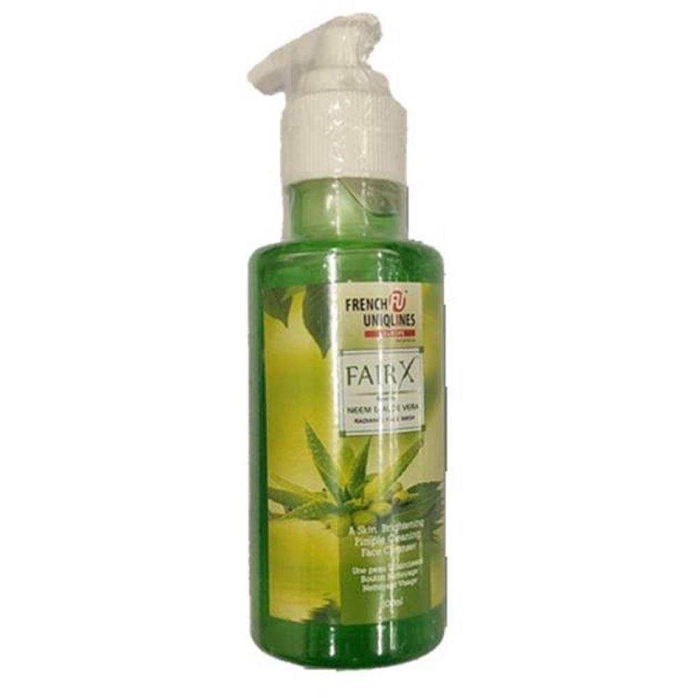French Uniqlines Fairx Neem & Aloevera Radiance Face Wash (100ml)