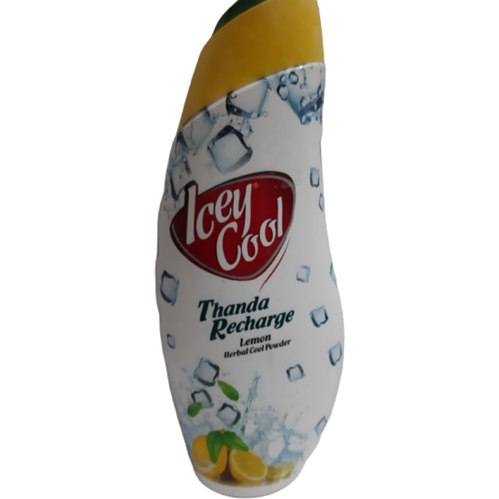 Labolia Icey Cool Thanda Recharge Lemon Herbal Cool Talcum Powder (150g)