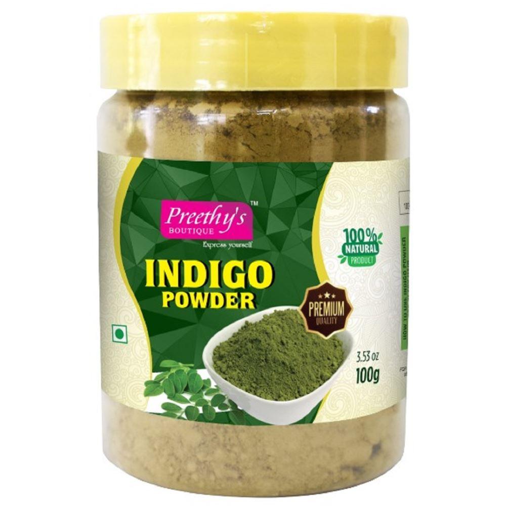 Preethy's Boutique Indigo Powder Bottle (100g)