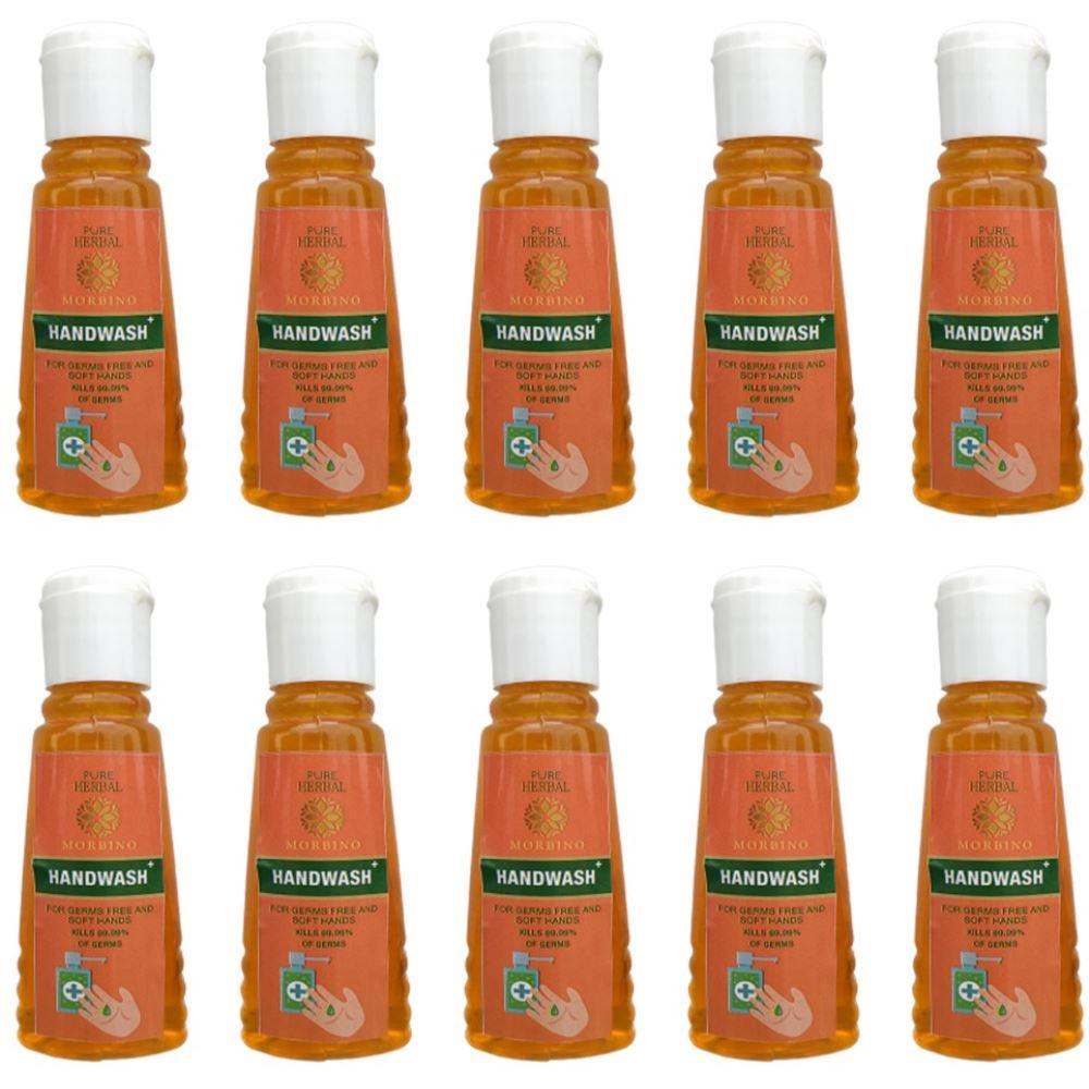 Pure Herbal Morbino Hand Wash (50ml, Pack of 10)