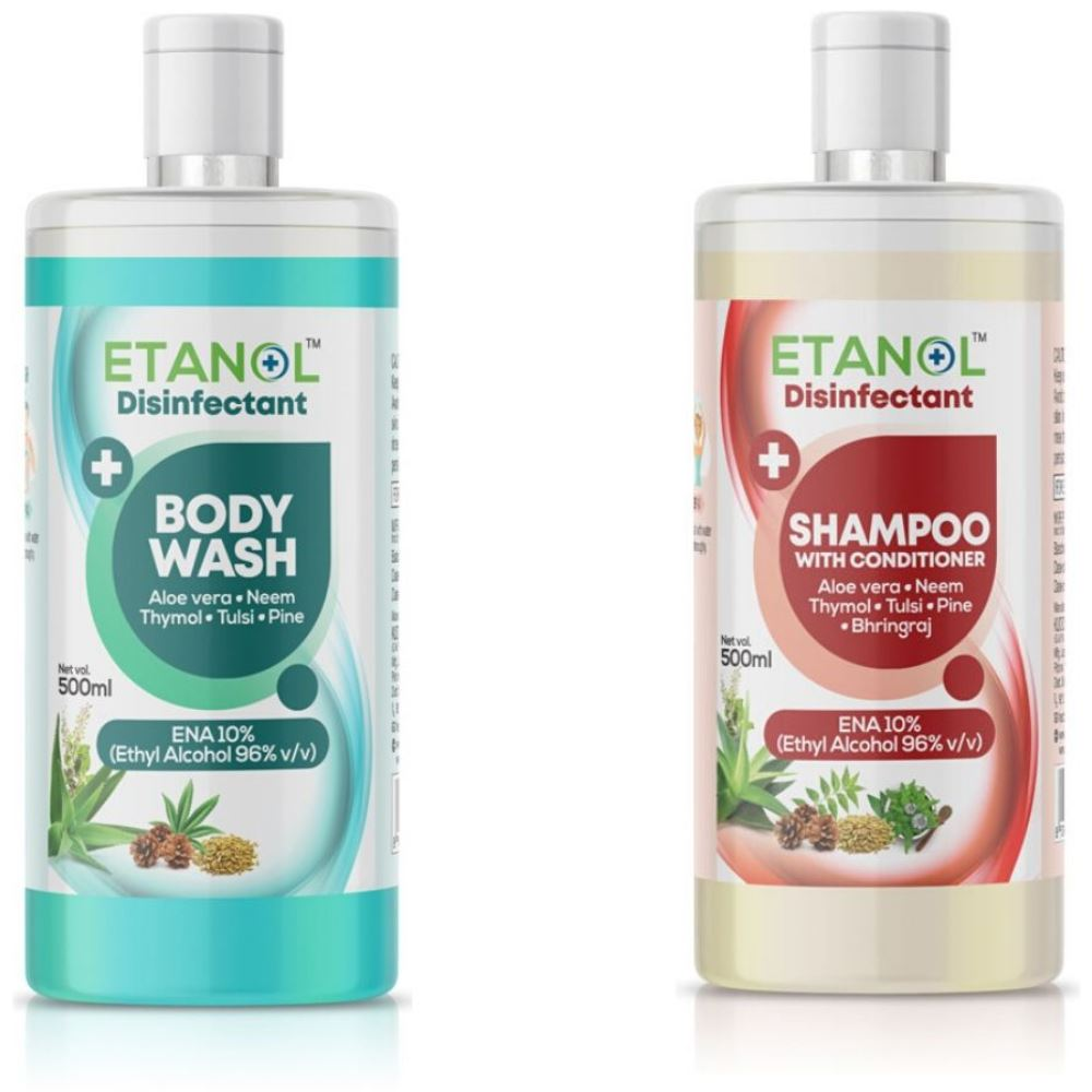 Kudos Body Wash + Shampoo and conditioner (Combo Pack) (500ml)
