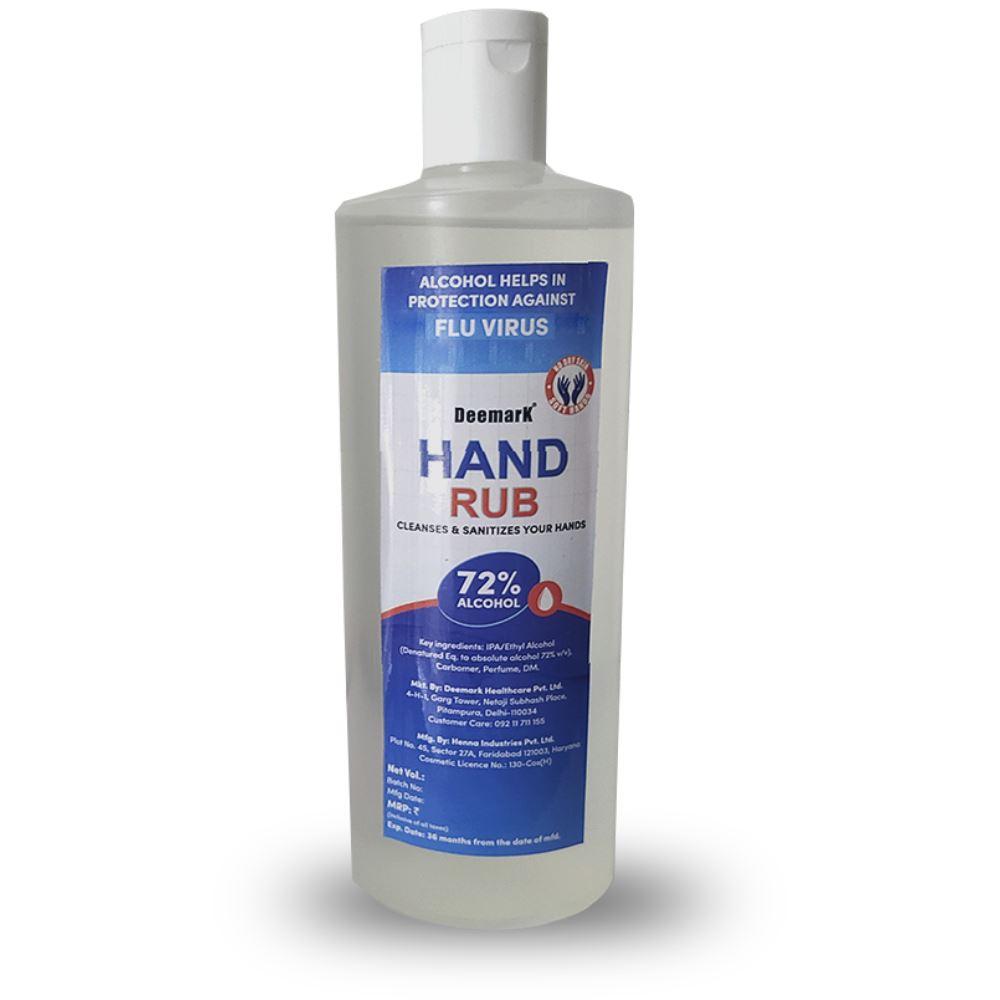 Deemark Hand Rub Sanitizer (500ml)