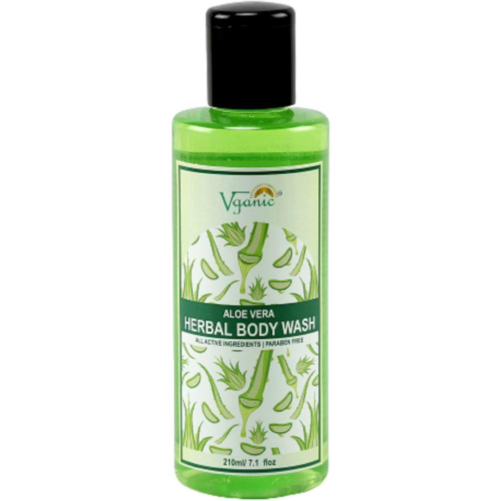 Vganic Aloe Vera Body Wash (210ml)