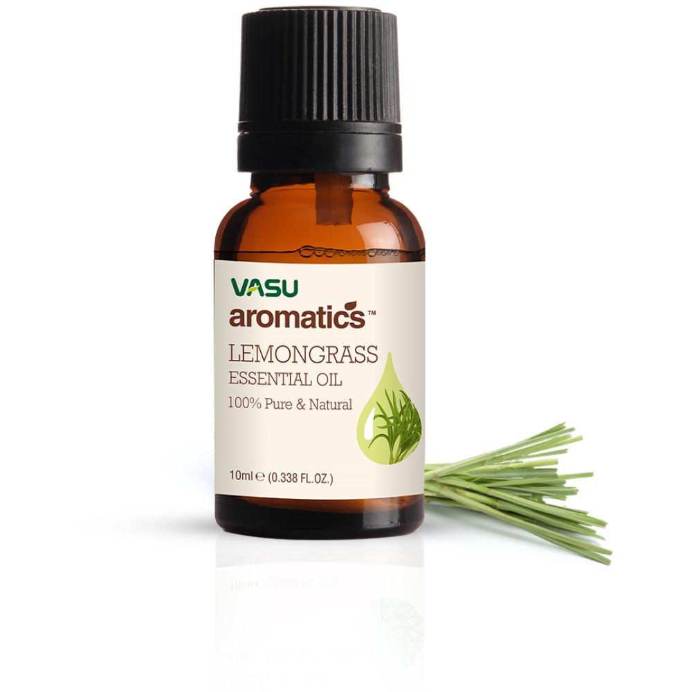 Vasu Aromatics Lemongrass Essential Oil (10ml)