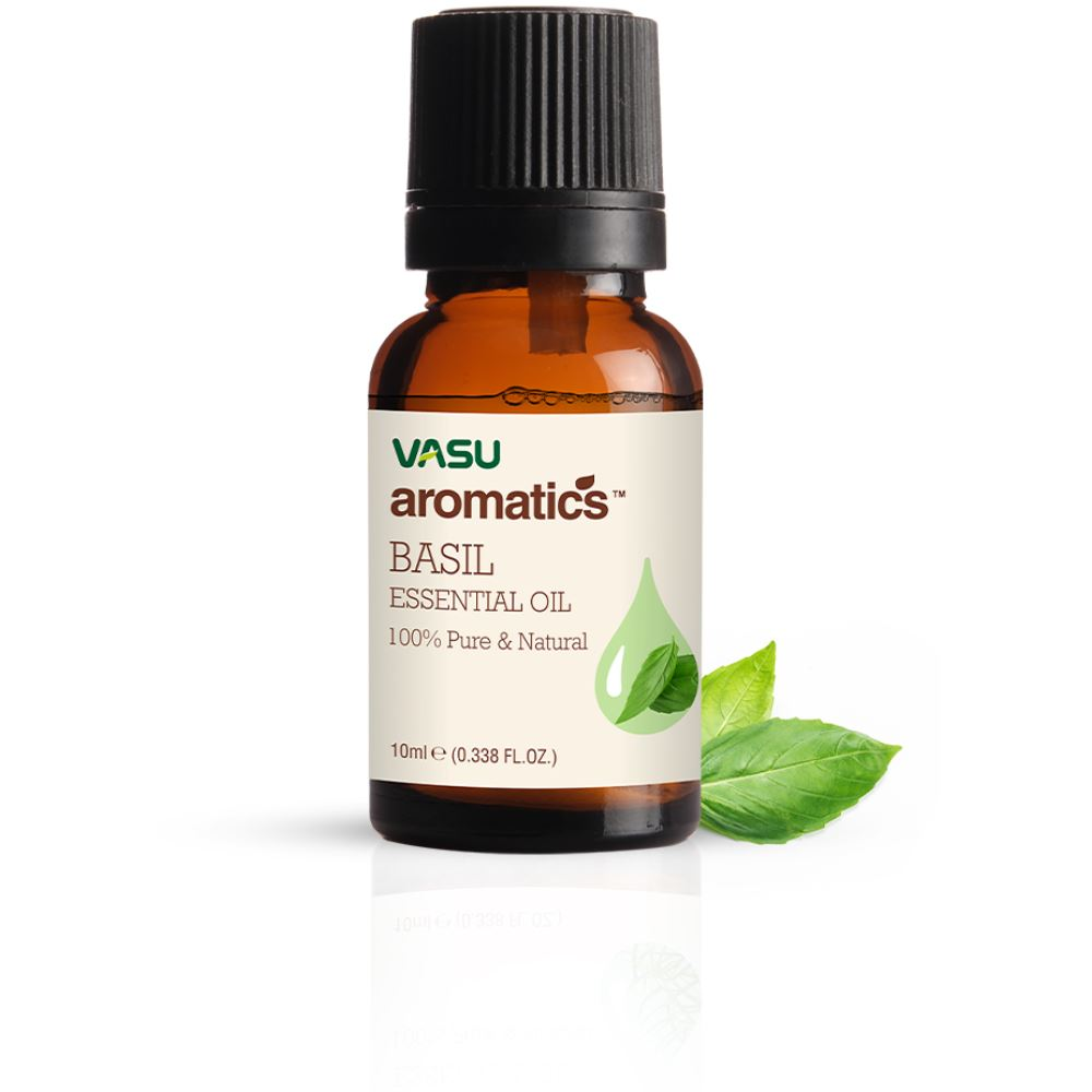 Vasu Aromatics Basil Essential Oil (10ml)