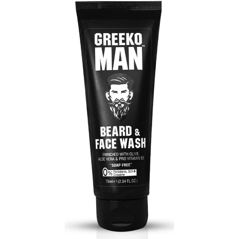 Greeko Man Beard & Face Wash (75ml)